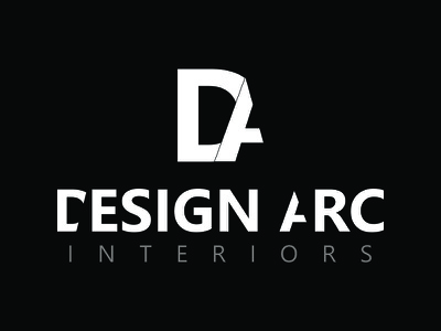 Design Arc Interiors contruction interior design luxury illustration design ui revamped logo