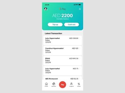 Pay App Concept UI creative interaction design concept redesign ios app clean ux ui