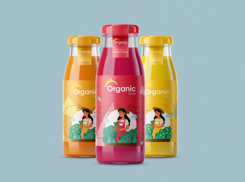 Organic Juice Packaking