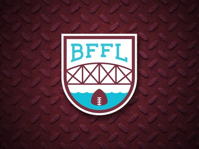 BFFL Logo fantasy football logos branding sports