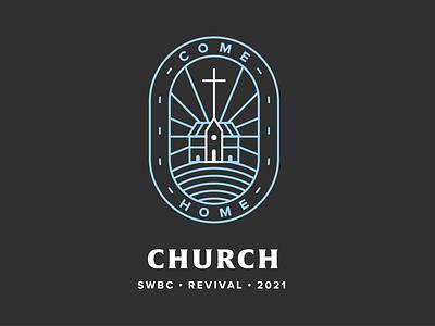 SWBC Revival Logo branding church branding church logo revival logo illustrator design