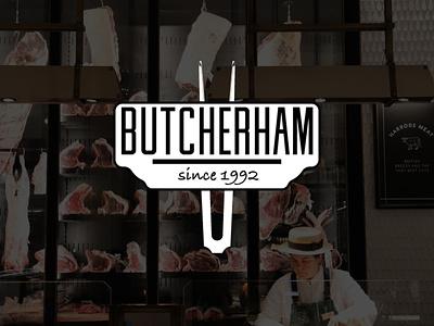 Butcherham #dribbbleweeklywarmup