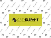 Designagency Logo GREYELEFANT business design branding logo