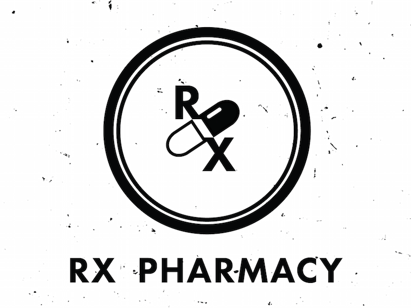 Rx Pharmacy Logo By Lois Yang On Dribbble