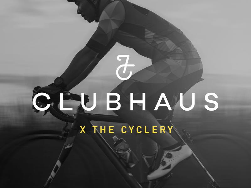 Clubhaus cycle bikeshop bikes bike identity branding brand type mark logo