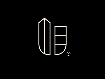Uplands Real Estate real estate logo real estate realestate identity branding icon brand type mark logo