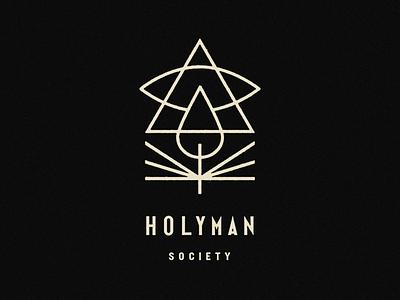 Holyman Society identity branding icon brand type mark logo