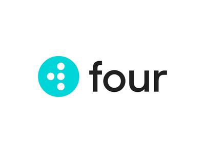 Four identity branding icon brand type mark logo