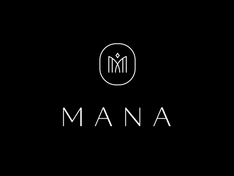 Mana identity branding icon brand type mark logo
