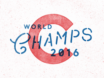 !!! chicago champs type baseball cubs