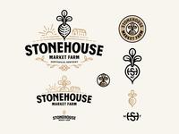 Stonehouse Market Farm Logo