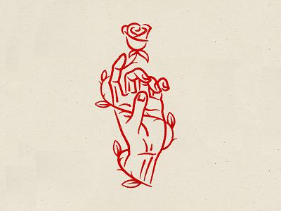 Growing Up drawing photoshop illustrator brush textures texture inkart ink illustration art illustration flowers illustration leaves flowers floral rose city design line art hand logo rose
