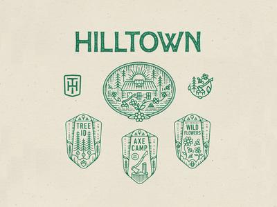 Hilltown Farm Logo System