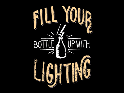 Fill Your Bottle music lyrics quote lettering hand lettering kacey musgraves