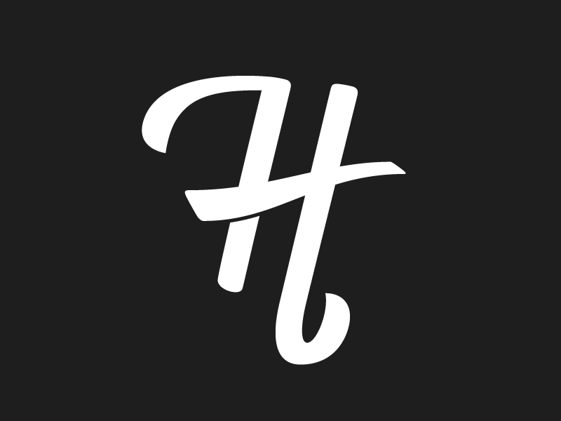 H for Handonam logo type by Grayson Hjaltalin  5df80c447b2