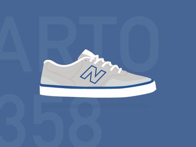 New Balance Numeric Arto 358