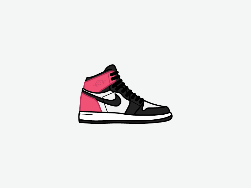 Air Jordan 1 Gg Valentine S Day By Grayson Hjaltalin Dribbble