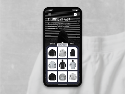 Swipe shop design iphonex iphone ui ios shop