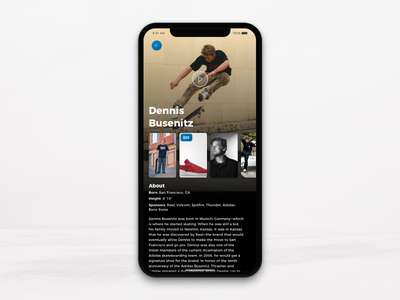 Skate App shop footwear shopping iphonex ios app skateboarding skate