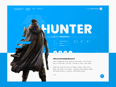 The missed hunter bungie game gaming pc ps4 warlock titan bladedancer dlc d2 destiny hunter