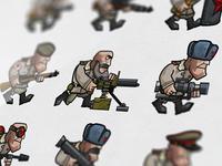 Soviet units