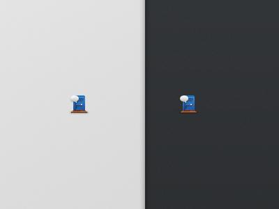 Chat Room Door 32x32 Icon giantbomb pixel