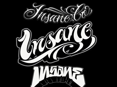 Insane Co (some letterings)