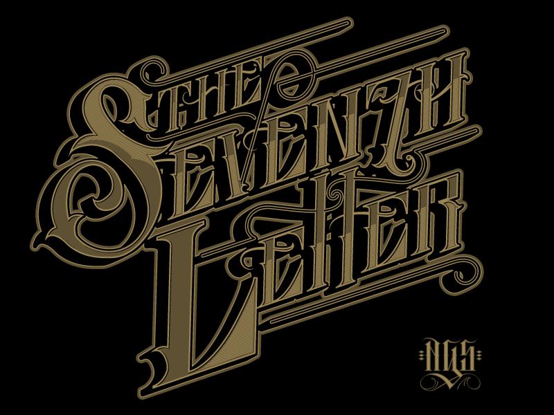 The Seventh Letter 1/2 tsl theseventhletter design lettering typography losangeles vintage