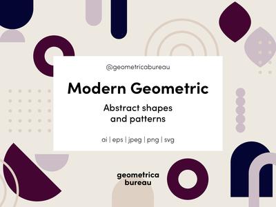 Geometrica Bureau – Modern Geometrica Patterns