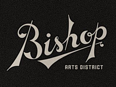 Bishop Arts District 2 bishop arts district black grey script sans texture