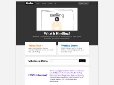 kindlingapp.com website