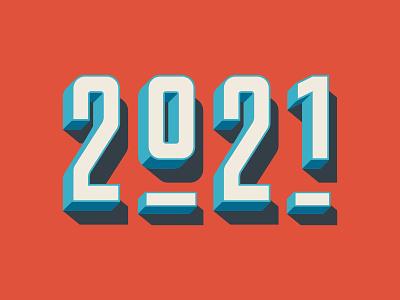 2021 numbers type design typography