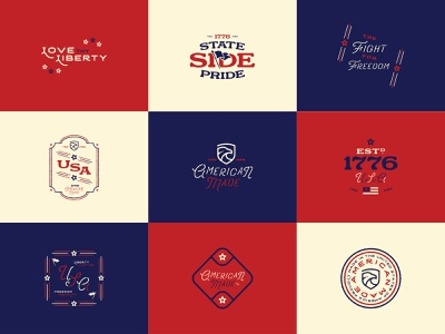 State Side Pride Series Collage