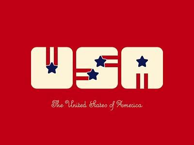 Memorial Day - USA united states america usa branding wordmark logo typography design