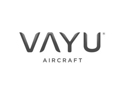 Vayu Aircraft logo - with shading
