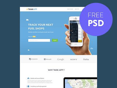 App ui ux minimal flat freebie clean design psd free app search web theme