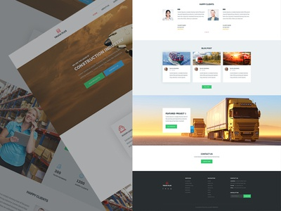 Trucking Home page