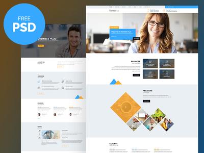 Free PSD : Business Plus