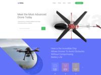Drone_Homepage Design