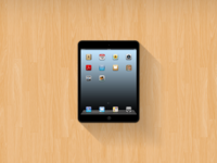 iPad Mini Mockup (Free PSD)