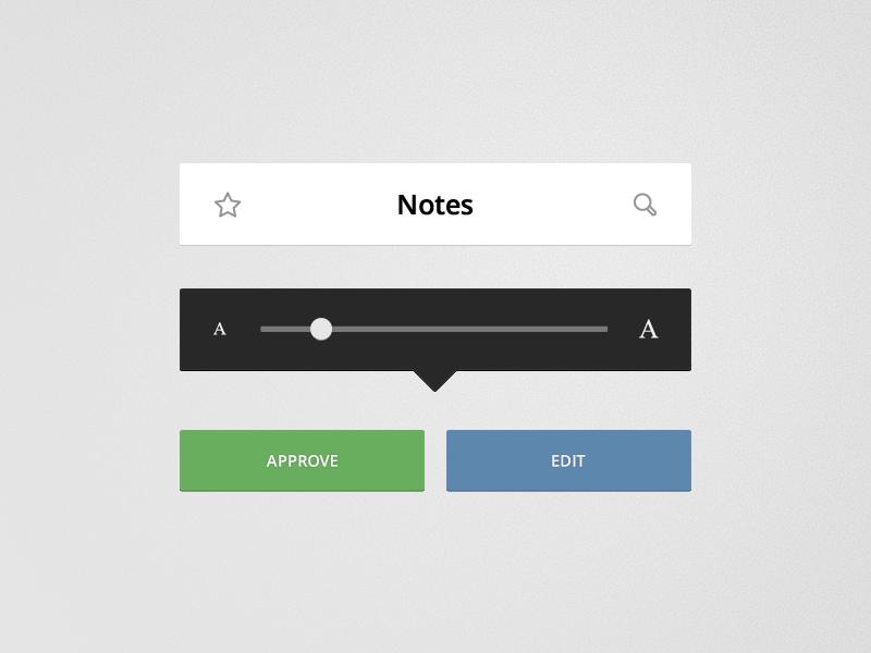 Flat reader elements  free psd    byjad