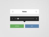 Flat Reader Elements (Free PSD)