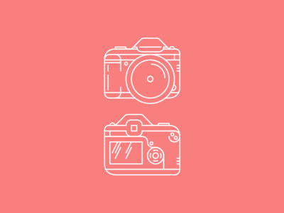DSLR T-Shirt Illustration