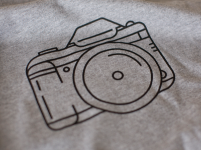 DSLR T-Shirt (Printed!)
