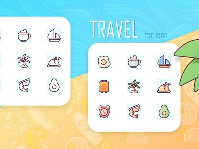 Icon for travel