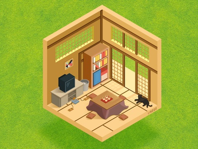 Japanese style small room