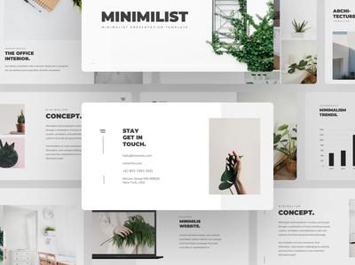 Minimilis - Minimalist Business Presentation Template