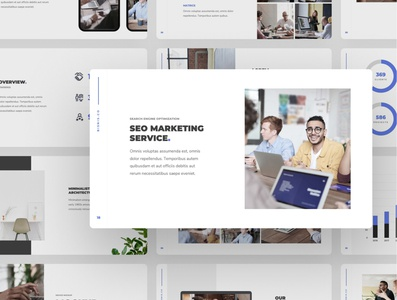Bisnis - Corporate Business Presentation Template