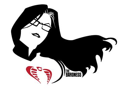 The Baroness graphic the baroness gi joe cobra