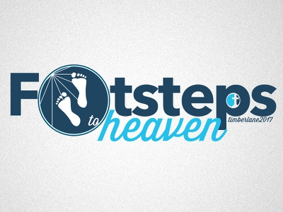 Footsteps To Heaven graphic timberlane logo christian religious church